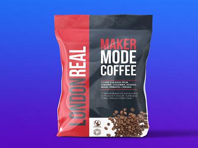 London Coffee Packaging Mockup illustration design mockup design free premium latest logo mockup logo psd mockup psd pouch mockup packaging coffee london