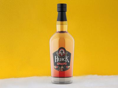 Classic Dark Rum Bottle Mockup logo illustration design psd mockup design psd mockup premium free latest mockup bottle rum dark classic