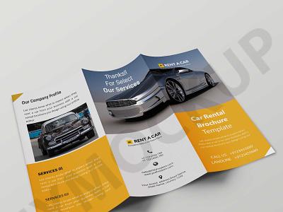 Tri Fold Car Brochure Template logo illustration design psd mockup design psd mockup mockup premium free latest template brochure car tri fold