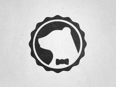 Bear Logo bear logo stamp