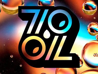 710 OIL Branding brand icon ambigram logomark logotype type typography branding logo pot weed marijuana vaporizer cannabis vape oil 710