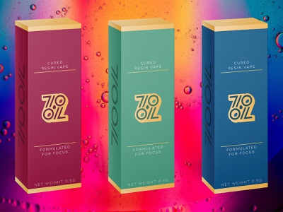 710 OIL logo branding brand mockup 2d design packaging package concentrate pot cannabis marijuana weed vaporizer vapor vape oil