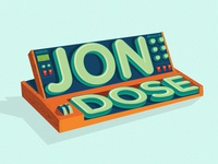 Jon Dose Sticker