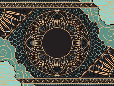 Ornamental Experimentation ornamental ornament border art deco pattern brush vector