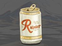 Rainier Still Life