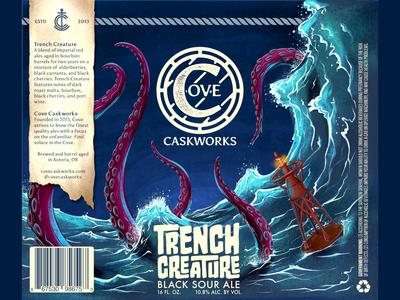Trench Creature Black Sour Ale