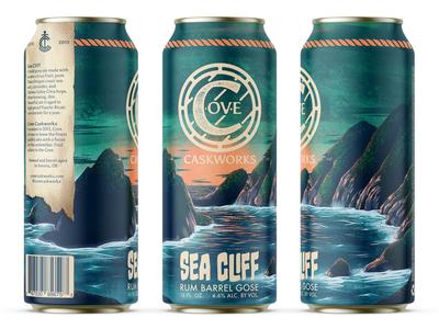 Sea Cliff Rum Barrel Gose