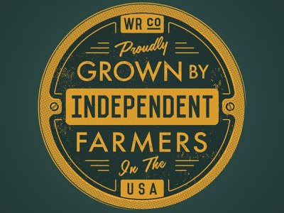 Proudly Grown 2 typography willie nelson pot marijuana weed cannabis 2d