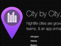 Nightlife City By City