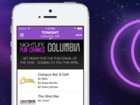 Nightlife Facebook Banner Columbia Eclipse