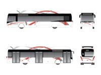 """Design Bus """"Compagnie des autobus de Monaco"""""""