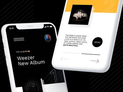 Weekly Top Music app