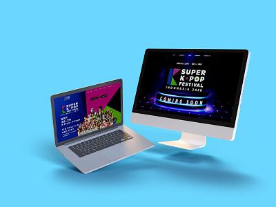 Super Kpop Concert Website ui website design website web