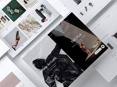 The Negative Space Website Ecommerce website design website webdesign web
