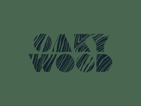 OAKYWOOD grain green font logodesign logotype oak typography wood logo