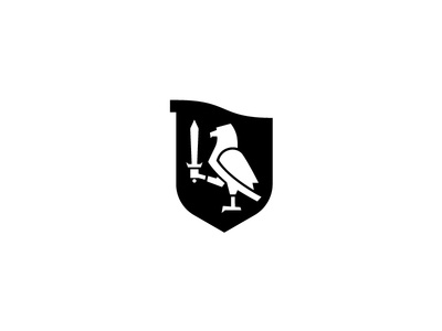 Crest bird of prey