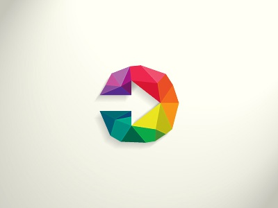 Arrow Colors logo icon symbol colors arrow mosaic
