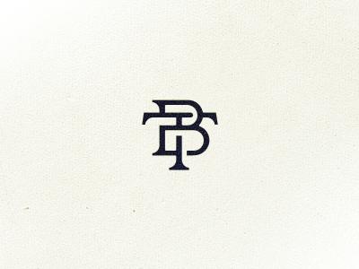 B/T monogram tattoo