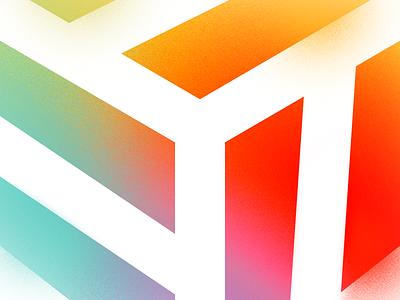 CrateBind's Newest Product Designer gradient vector logo design color flat