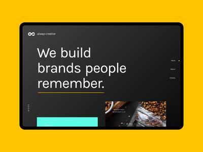 Always Creative Website