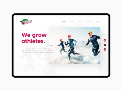 Endurance Farm Website