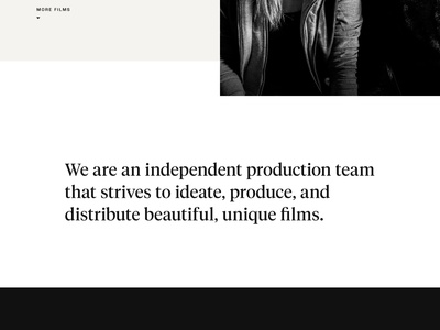 Abstrance Films Website