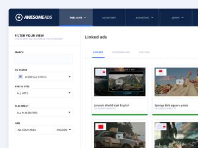 AwesomeAds Publishers Ad Queue