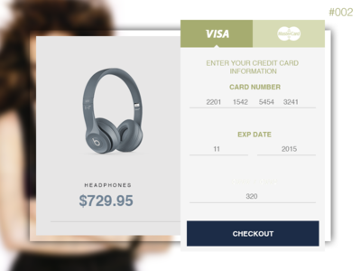 Daily UI - 002 Checkout