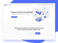 Home Page Header Design