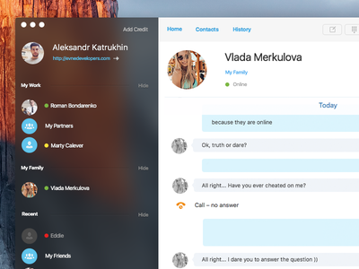 Skype user interface ui skype mac os