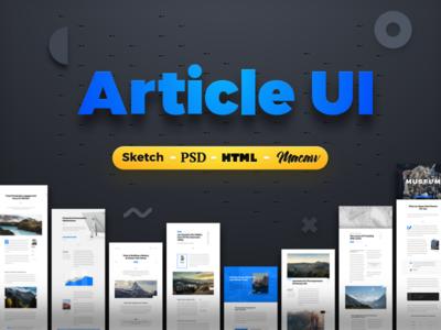 Article UI