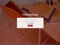 Landing Page for Internal Design Team Blog