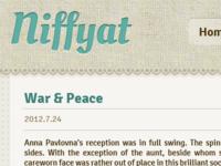 Niffyat.net Redesign