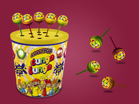 Lollypop box for Cunga Lunga