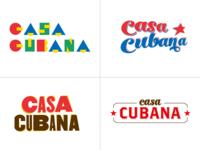 Casa Cubana - Logo proposals Color