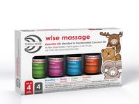 Massage Oils |  packaging design & illustration