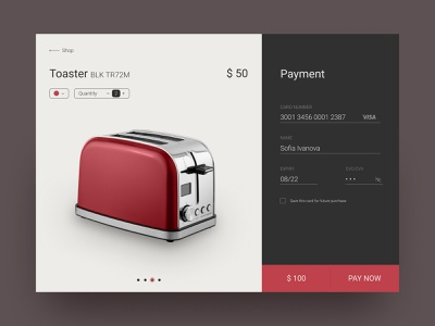 Payment page credit card credit card checkout ui portfolio design daily ui challenge