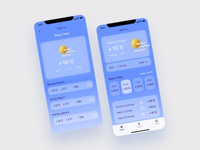 Weather app app ui ux ui weather app weather app design app