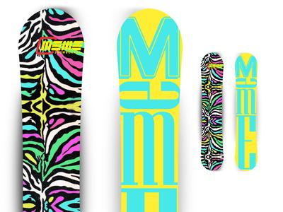 Snowboard (animal print) 2014