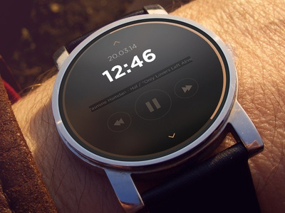 Smart Watch Concept Shot