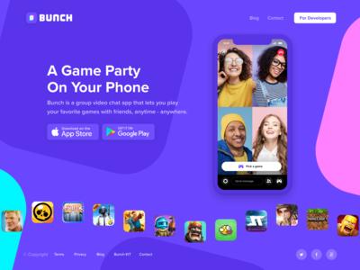 Bunch website