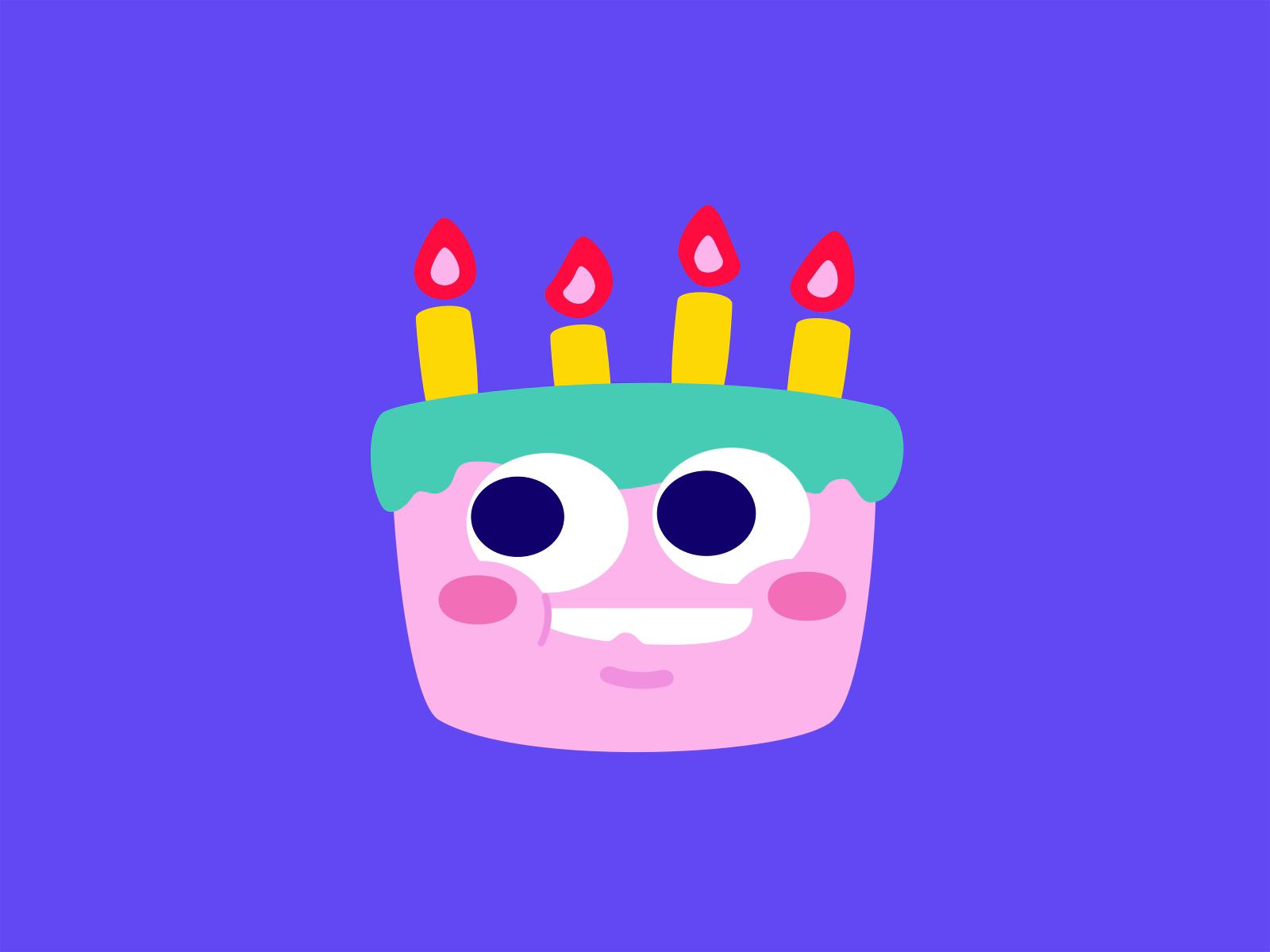 Cake idle dribbble