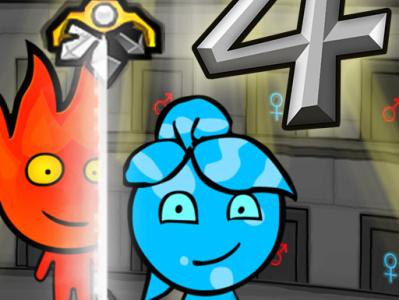 ogien i woda 4 gry na 2 osoby gry online gry