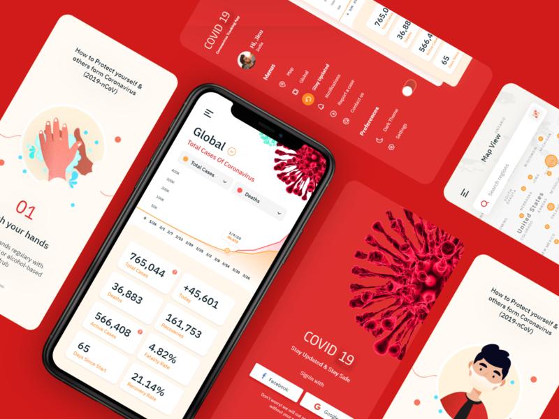 Corona Virus Tracking App