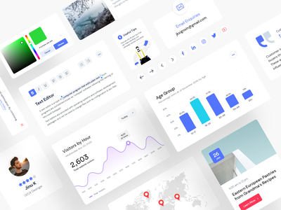 Dashboard Interface Elements daily ui typography trending testimonial qatar presentation illustration doha debut dashboard ui dashboard template dashboard covid19 covid coronavirus corona collection card banglore 2020