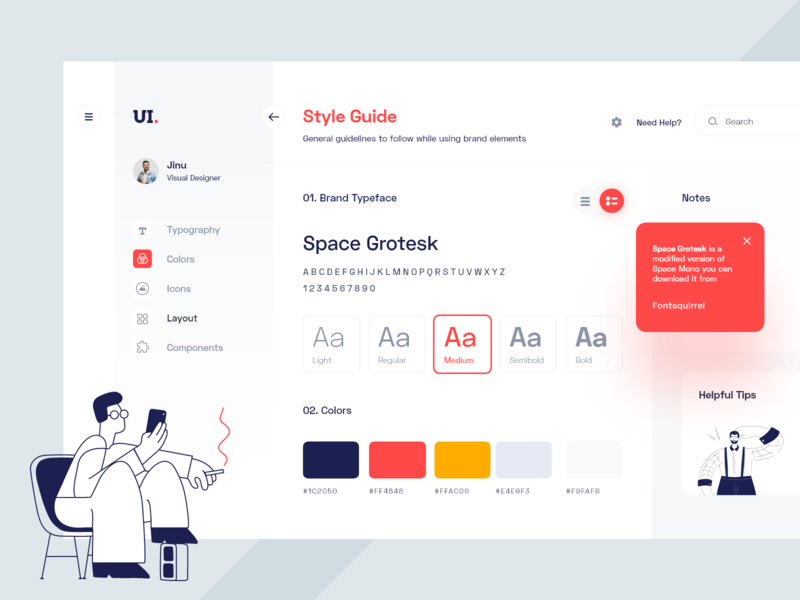 Exploring style guide buttons application hyderabad qatar banglore website web visual language ux user ui kit ui style guide interface design system debut dashboard daily ui color palette 2020