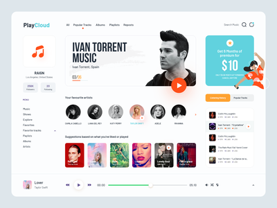 Listen to music dark theme music player ui music player behance music app illustration interface figma kerala india bigsur dashboard mobile design system daily ui debut ux ui player app