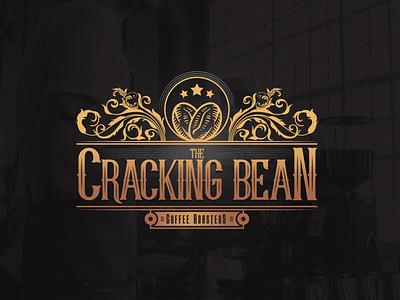 The Cracking Bean Logo Design graphicdesign branding vector design logo