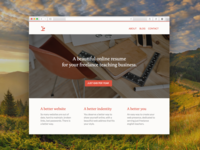 Learn Seed Landing Page