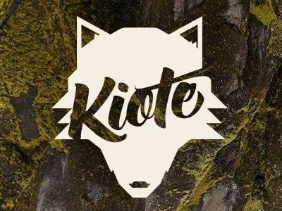 """KEEOHTEY"" logo animal coyote nature brand"